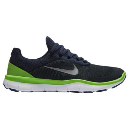 (取寄)Nike ナイキ メンズ ランニングシューズ フリー トレーナー V7 Nike Men's Free Trainer V7 College Navy Chrome Action Green Wolf Grey White