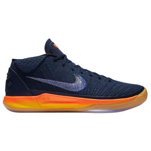 (取寄)Nike ナイキ メンズ バッシュ コービー A.D. バスケットシューズ Nike Men's Kobe A.D. Obsidian White Mega Blue
