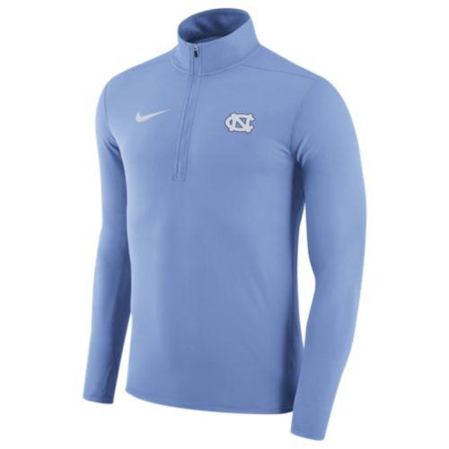 (取寄)Nike ナイキ メンズ トレーニングウェア ハーフジップ フリース カレッジ チーム エレメント トップ Nike Men's College Team Element Top Light Blue