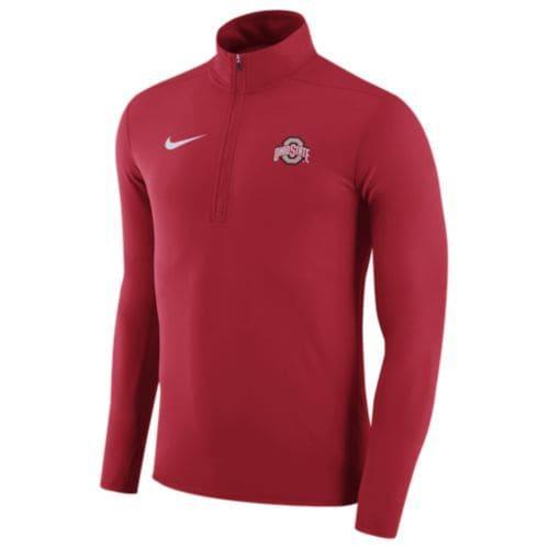 (取寄)Nike ナイキ メンズ トレーニングウェア ハーフジップ フリース カレッジ チーム エレメント トップ Nike Men's College Team Element Top Red