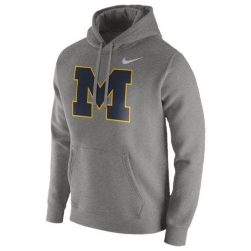(取寄)Nike ナイキ メンズ パーカー カレッジ チーム クラブ フーディ Nike Men's College Team Club Hoodie Dark Grey Heather