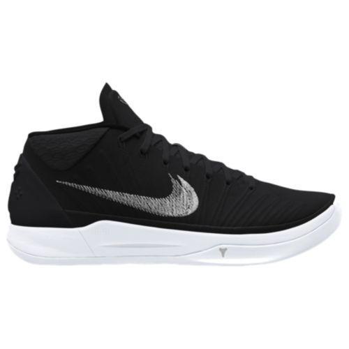 (取寄)Nike ナイキ スニーカー バッシュ メンズ コービー A.D. バスケットシューズ Nike Men's Kobe A.D. Black Metallic Silver White