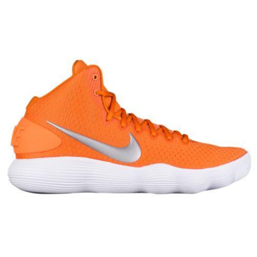 Nike Womens React Hyperdunk 2017 Low Team Orange Metallic Silver White ナイキ Nike リアクト ロー 2017 バッシュ (取寄) ハイパーダンク レディース