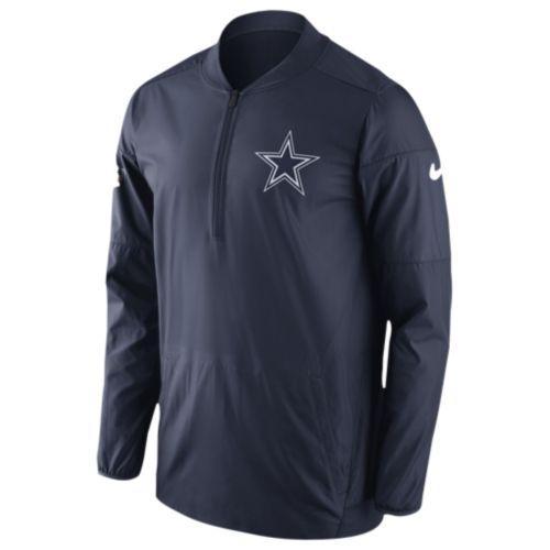 (取寄)Nike ナイキ メンズ NFL ロックダウン 1/2 ジップ トップ Nike Men's NFL Lockdown 1/2 Zip Top Navy