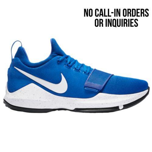 (取寄)Nike ナイキ メンズ スニーカー バッシュ PG 1 バスケットシューズ Nike Men's PG 1 Royal White