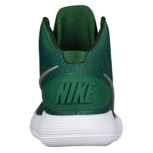 sneakers for cheap dec9a 5755a ... Nike Nike Lady s sneakers basketball shoes re-act hyper dunk 2017 mid basketball  Nike Women s React Hyperdunk 2017 Mid Gorge Green Metallic Silver White