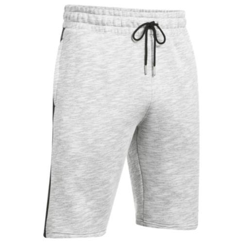 (取寄)アンダーアーマー メンズ ベースライン フリース ショーツ Under Armour Men's Baseline Fleece Shorts True Grey Heather Black