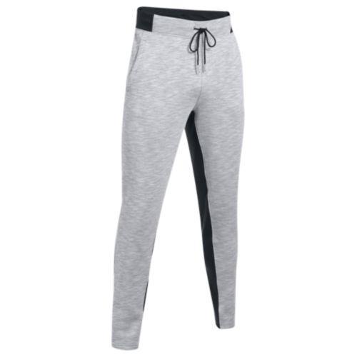 (取寄)アンダーアーマー メンズ ベースライン テーパード パンツ Under Armour Men's Baseline Tappered Pants True Grey Heather Black