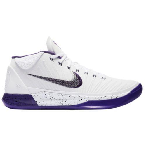 (取寄)Nike ナイキ メンズ スニーカー バッシュ コービー A.D. バスケットシューズ Nike Men's Kobe A.D. White Court Purple Black