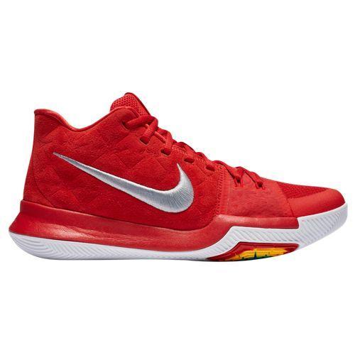(取寄)Nike ナイキ メンズ スニーカー バッシュ カイリー 3 バスケットシューズ Nike Men's Kyrie 3 University Red Wolf Grey