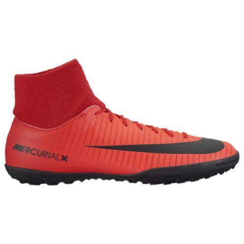 Nike ナイキ メンズ スニーカー フットサルシューズ マーキュリアルX ビクトリー ダイナミック フィット tr Nike Men's MercurialX Victory Dynamic Fit TF University Red Black Bright Crimson
