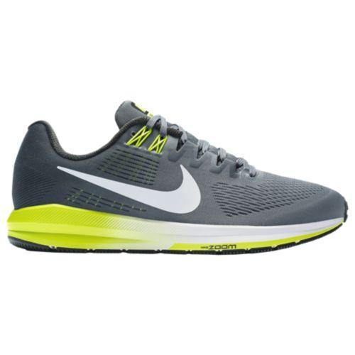 (取寄)Nike ナイキ メンズ ランニングシューズ エア ズーム ストラクチャ 21 Nike Men's Air Zoom Structure 21 Cool Grey White Anthracite Volt