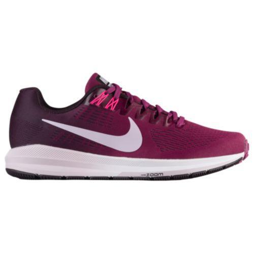 (取寄)Nike ナイキ レディース ランニングシューズ エア ズーム ストラクチャ 21 Nike Women's Air Zoom Structure 21 Tea Berry Iced Lilac Port Wine