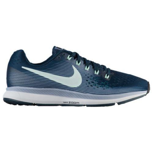 (取寄)Nike ナイキ レディース ランニングシューズ エア ズーム ペガサス 34 Nike Women's Air Zoom Pegasus 34 Armony Navy Mint Foam Glacier Grey Black