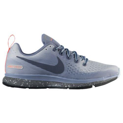 (取寄)Nike ナイキ レディース ランニングシューズ エア ズーム ペガサス 34 シールド Nike Women's Air Zoom Pegasus 34 Shield Wolf Grey Thunder Blue Dark Sky Blue
