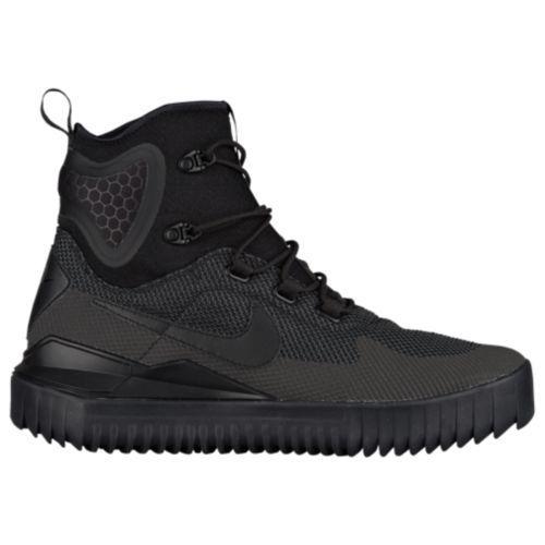 (取寄)Nike ナイキ メンズ エア ワイルド ミッド ブーツ Nike Men's Air Wild Mid Black Black Black Anthracite