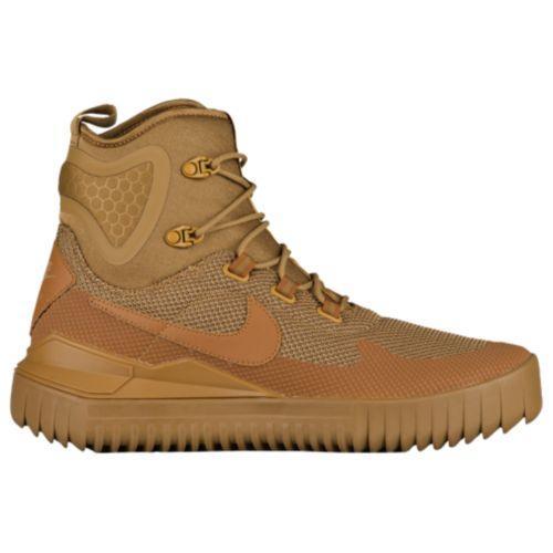 (取寄)Nike ナイキ メンズ エア ワイルド ミッド ブーツ Nike Men's Air Wild Mid Golden Beige Ale Brown Golden Beige
