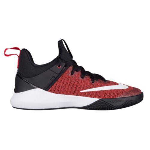 (取寄)Nike ナイキ レディース バッシュ ズーム シフト バスケットシューズ Nike Women's Zoom Shift University Red White Black