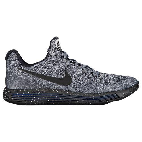 (取寄)Nike ナイキ メンズ スニーカー ランニングシューズ ルナエピック ロー フライニット 2 Nike Men's LunarEpic Low Flyknit 2 Black Black White Racer Blue