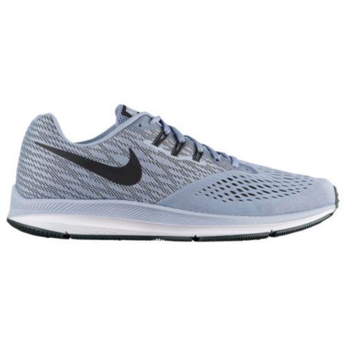 (取寄)Nike ナイキ メンズ ズーム ウィンフロー 4 スニーカー ランニングシューズ Nike Men's Zoom Winflo 4 Glacier Grey Black Anthracite White
