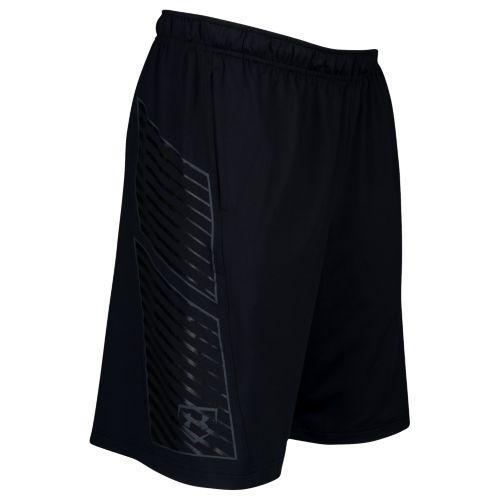 (取寄)アンダーアーマー メンズ ベースボール トレーニング ショーツ Under Armour Men's Baseball Training Shorts Black Stealth