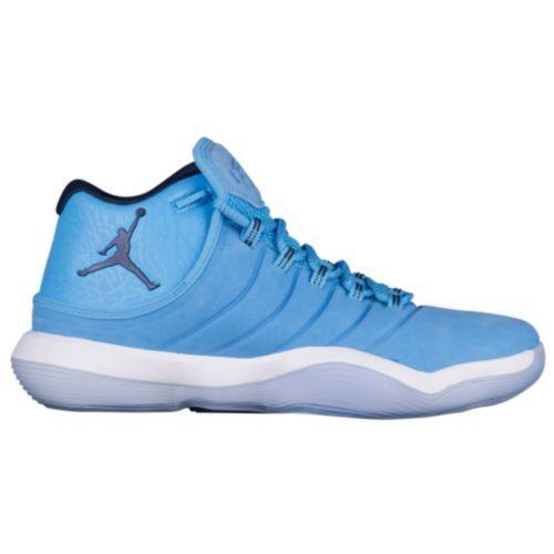 (取寄)ジョーダン メンズ バッシュ スーパーフライ 2017 バスケットボール Jordan Men's Super.Fly 2017 University Blue Midnight Navy White