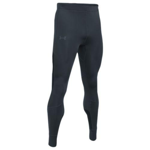 (取寄)アンダーアーマー メンズ リアクター ラン タイツ Under Armour Men's Reactor Run Tights Stealth Gray Black Reflective