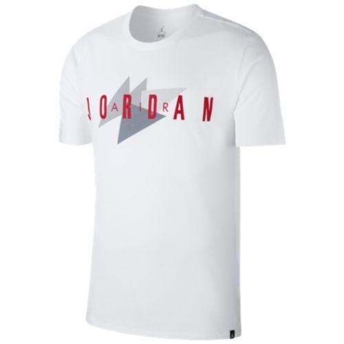 watch e20b7 15a37 (order) Jordan men JSW brand 1 T-shirt Jordan Men s JSW Brand 1 T-Shirt  White Gym Red