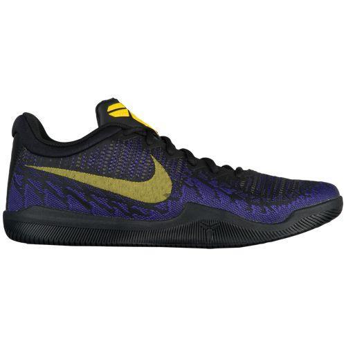 (取寄)ナイキ メンズ バッシュ コービー ブライアント マンバ レイジ バスケットボール Nike Men's Mamba Rage Black Tour Yellow Court Purple