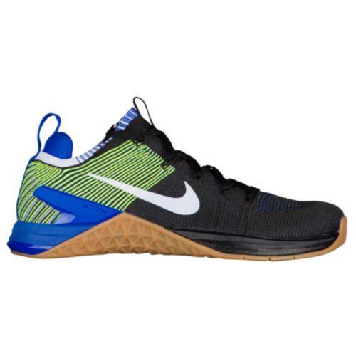 (取寄)ナイキ メンズ スニーカー トレーニングシューズ メトコン DSX フライニット 2 Nike Men's Metcon DSX Flyknit 2 Black White Racer Blue Volt
