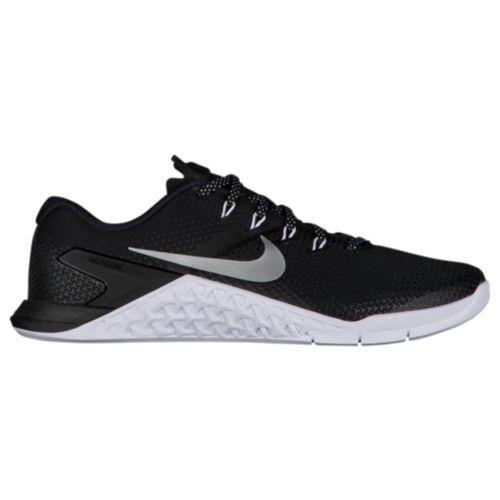 (取寄)ナイキ レディース メトコン 4 ランニングシューズ スニーカー Nike Women's Metcon 4 Black White Metallic Silver