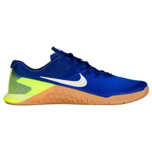 (取寄)ナイキ メンズ メトコン 4 トレーニングシューズ Nike Men's Metcon 4 Volt White Racer Blue Gum