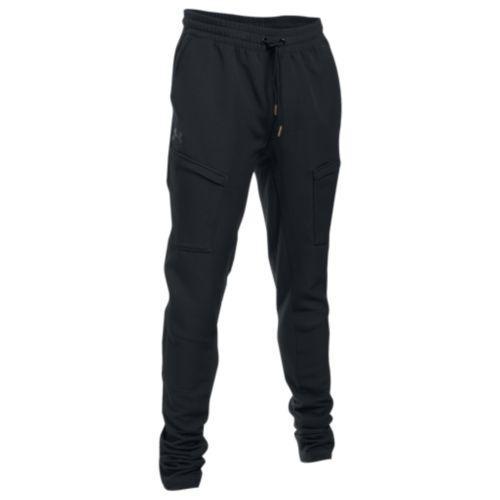 (取寄)アンダーアーマー メンズ カリー ライフ スタックド パンツ Under Armour Men's Curry Life Stacked Pants Black Black