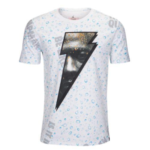 87d411a99638f0 (order) Jordan men JSW like microphone AOP T-shirt Jordan Men s JSW Like  Mike AOP T-Shirt White Blue Lagoon
