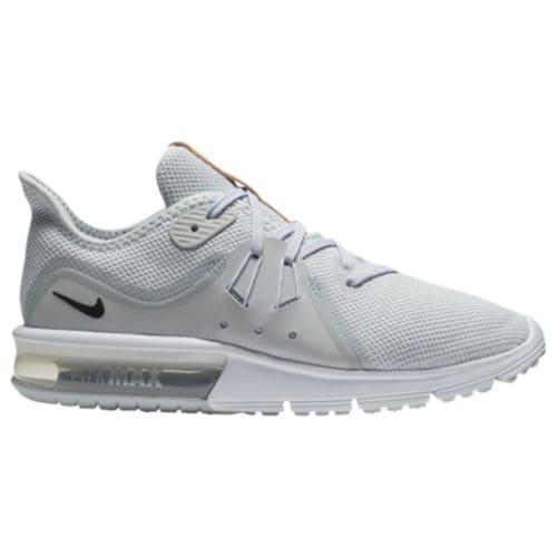 (取寄)ナイキ レディース エアマックス シークエント 3 スニーカー Nike Women's Air Max Sequent 3 Pure Platinum Black White