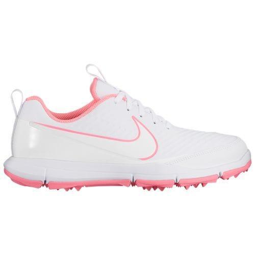 (取寄)ナイキ レディース エクスプローラー 2 ゴルフシューズ Nike Women's Explorer 2 Golf Shoes White White Sunset Pulse