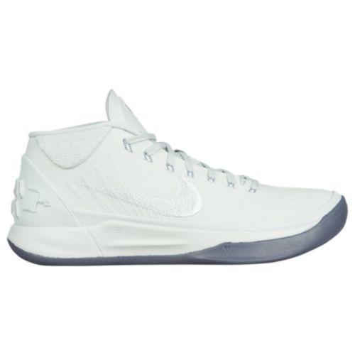 (取寄)ナイキ メンズ バッシュ コービー A.D. コービー ブライアント バスケットボール Nike Men's Kobe A.D. Kobe Bryant Pure Platinum White Metallic Silver