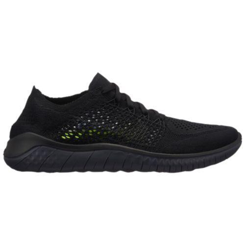 (取寄)ナイキ レディース スニーカー ランニングシューズ フリー RN フライニット 2018 Nike Women's Free RN Flyknit 2018 Black Anthracite