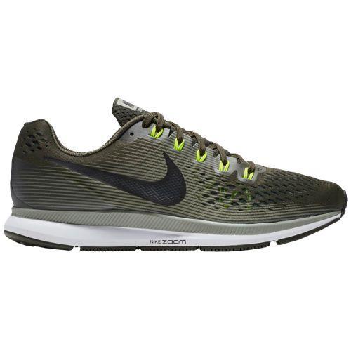 (取寄)ナイキ メンズ スニーカー ランニングシューズ エア ズーム ペガサス 34 Nike Men's Air Zoom Pegasus 34 Sequoia Black Dark Stucco Volt Dark Grey