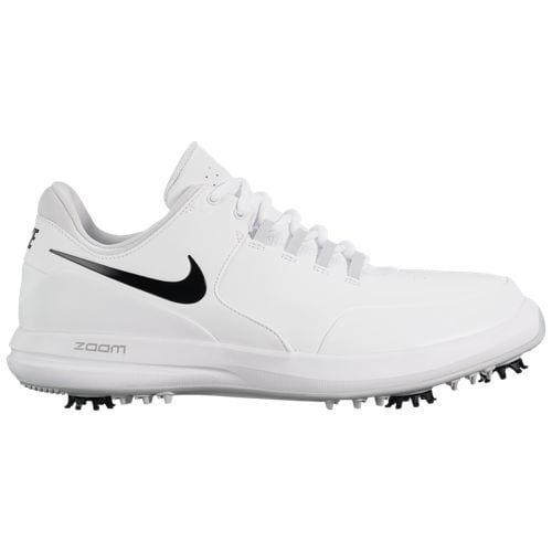 (取寄)ナイキ メンズ アキュレイト ゴルフ シューズ Nike Men's Accurate Golf Shoes White Black Metallic Silver