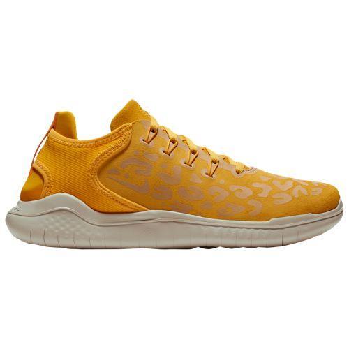 (取寄)ナイキ レディース フリー ランニングシューズ スニーカー RN 2018 Nike Women's Free RN 2018 Yellow Ockre Oil Grey University Gold