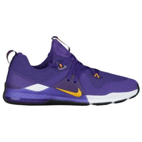 (取寄)ナイキ メンズ スニーカー ズーム トレイン コマンド LSU タイガース Nike Men's Zoom Train Command LSU Tigers Court Purple University Gold White Black