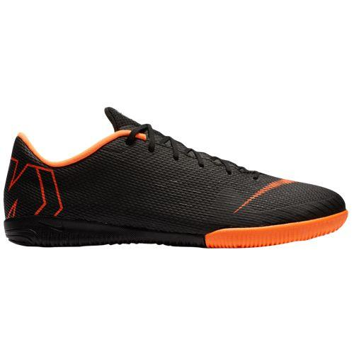 (取寄)ナイキ メンズ スニーカー ランニングシューズ マーキュリアル ヴェイパー X 12 アカデミー ic Nike Men's Mercurial VaporX 12 Academy IC Black Total Orange White