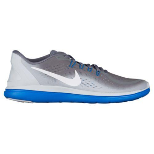 (取寄)ナイキ メンズ フレックス RN 2017 ランニングシューズ スニーカー Nike Men's Flex RN 2017 Cool Grey White Pure Platinum Photo Blue