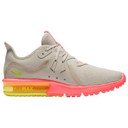 (取寄)ナイキ レディース エア マックス シークエント 3 スニーカー Nike Women's Air Max Sequent 3 Light Bone Volt Hot Punch