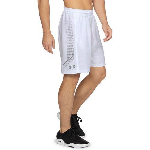 (取寄)アンダーアーマー メンズ ウーブン グラフィック ショーツ Under Armour Men's Woven Graphic Shorts White Zinc Gray