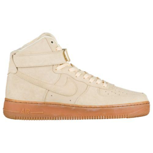 (取寄)ナイキ メンズ エア フォース 1 ハイ LV8 スニーカー Nike Men's Air Force 1 High LV8 Muslin Muslin Gum Med Brown Ivory