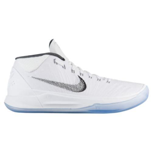 (取寄)ナイキ メンズ バッシュ コービー A.D. コービー ブライアント バスケットシューズ Nike Men's Kobe A.D. Kobe Bryant White Metallic Silver Ice
