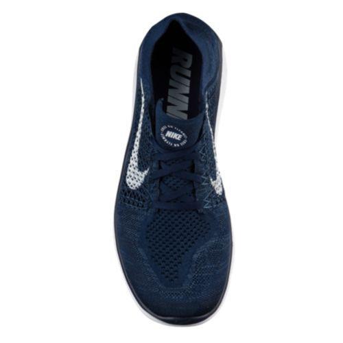 3f0a98223af (order) Nike men running shoes-free RN fly knit 2018 Nike Men s Free RN  Flyknit 2018 College Navy White Squadron Blue
