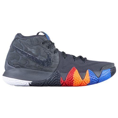 (取寄)ナイキ メンズ スニーカー バッシュ カイリー 4 カイリー アービング バスケットシューズ Nike Men's Kyrie 4 Kyrie Irving Grey Black